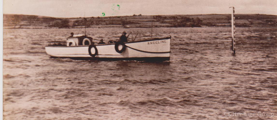 The Anceline ferried passengers between Ferrypoint and Youghal