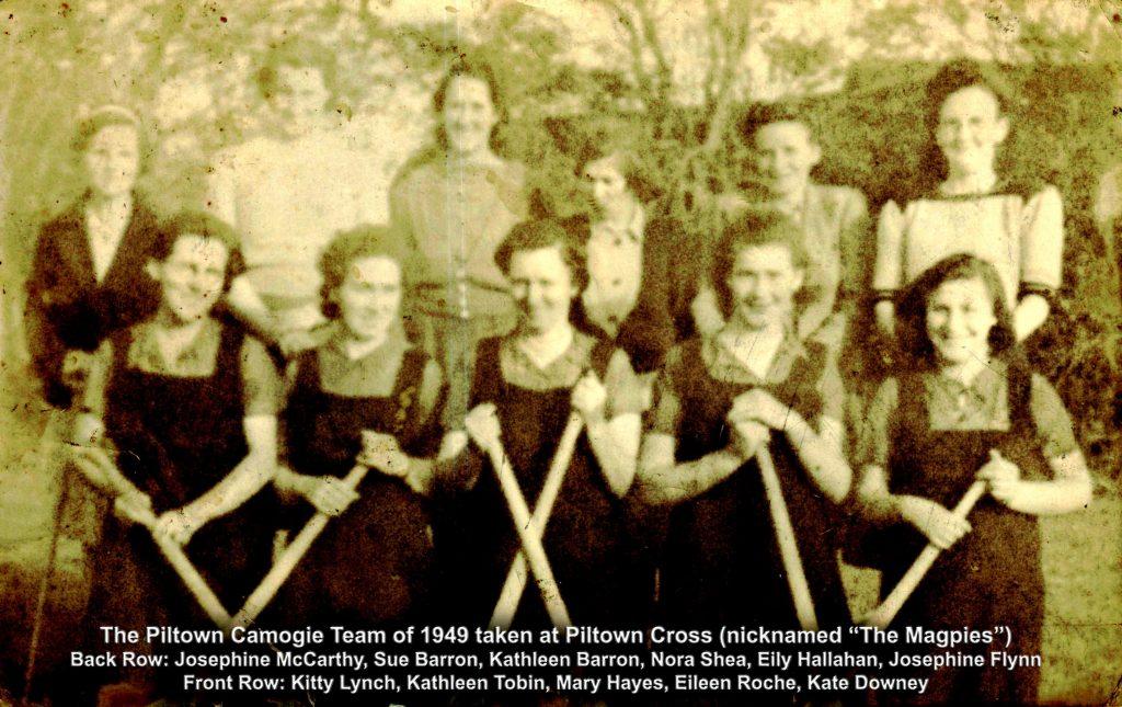 Piltown Camogie Team 1949